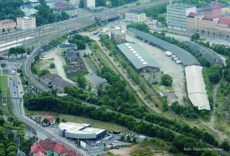 am 10.08.13 : Luftbild Dresden